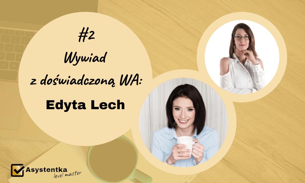 wywiad z WA Edyta Lech