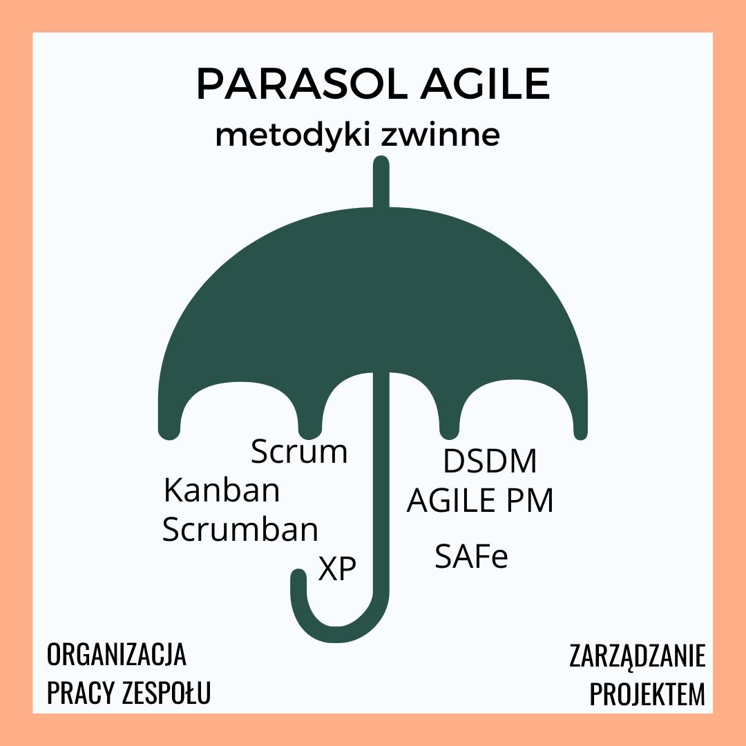 Zwinne zarządzanie projektami: parasol agile